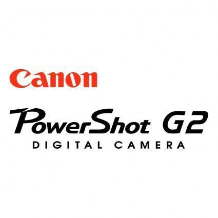 free vector Canon powershot g2