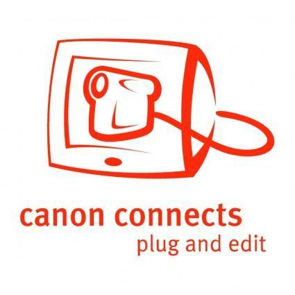 free vector Canon connects