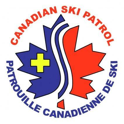 free vector Canadian ski patrol system