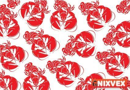 NixVex Lobster Free Vector