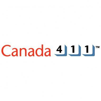 free vector Canada 411