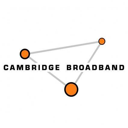 free vector Cambridge broadband