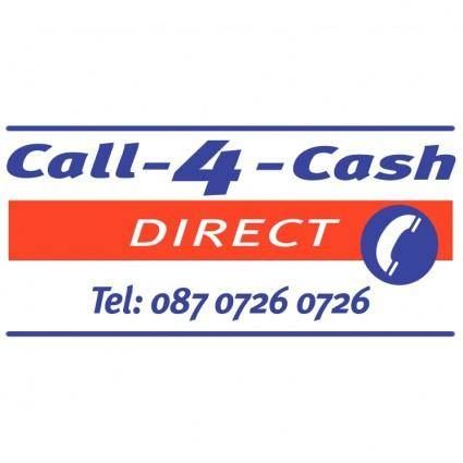 free vector Call 4 cash