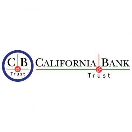 free vector California bank trust