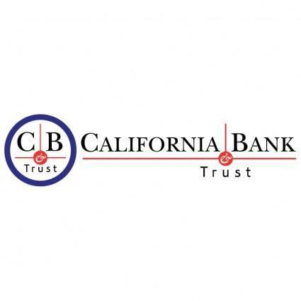 free vector California bank trust