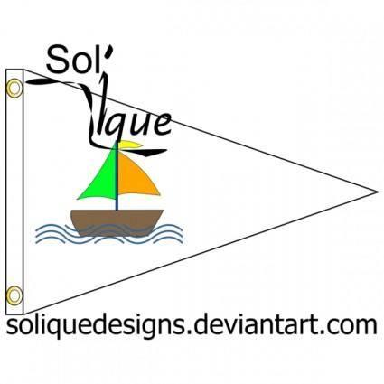 free vector Sailing Flag