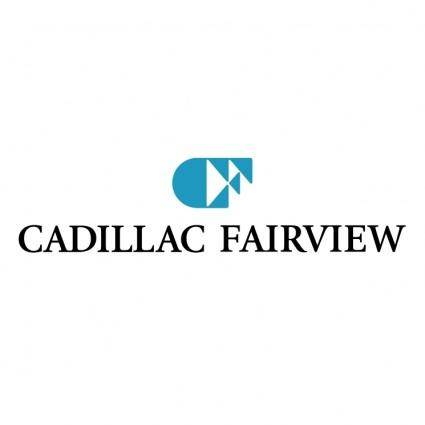 free vector Cadillac fairview