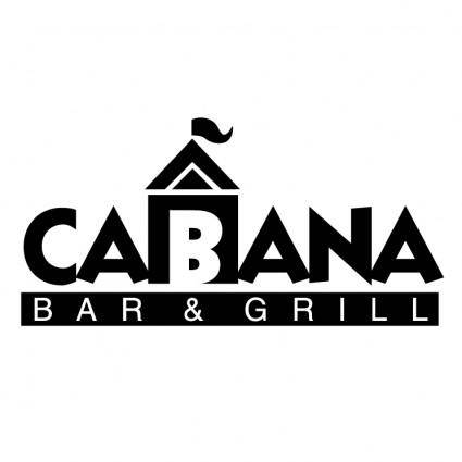 free vector Cabana bar grill 0