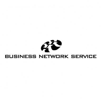 free vector Business network service