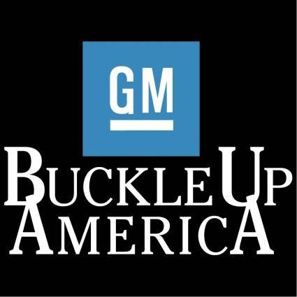 free vector Buckle up america