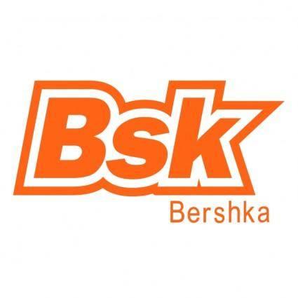 free vector Bsk bershka