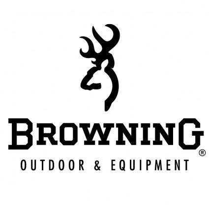 free vector Browning outdoor equipment