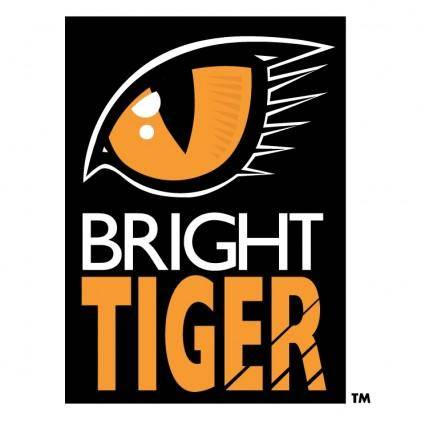free vector Bright tiger