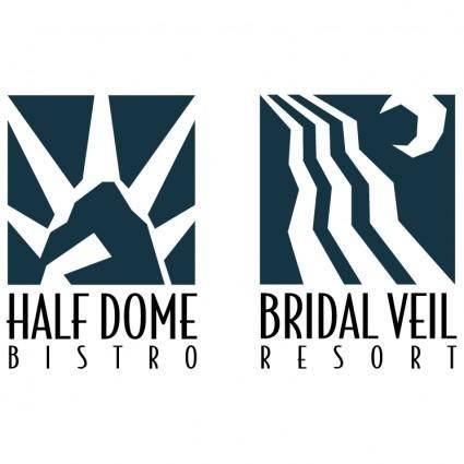 free vector Bridal veil resort
