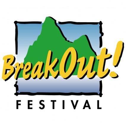 free vector Breakout festival 0