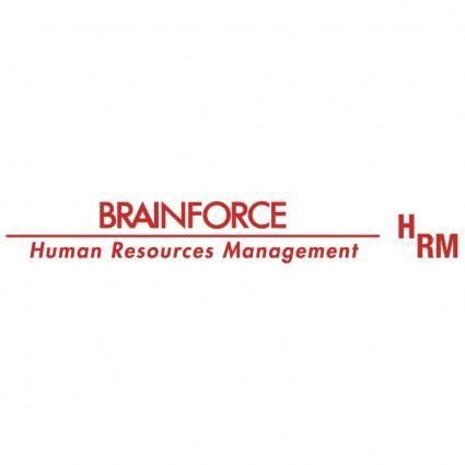 free vector Brainforce hrm