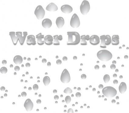 free vector Water Drops