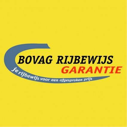 free vector Bovag rijbewijs garantie
