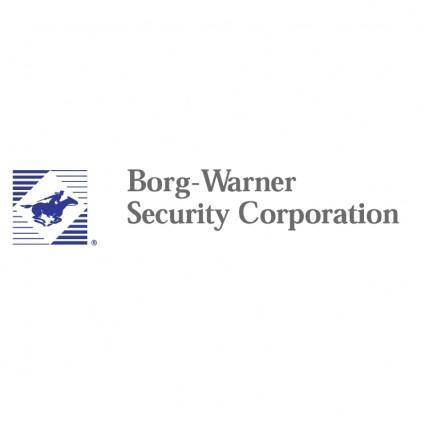 Borg warner security corporation 0