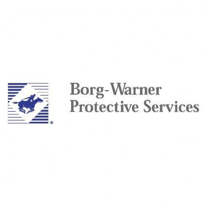 free vector Borg warner protective services