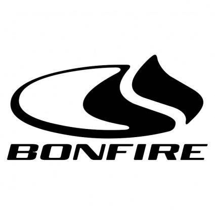 free vector Bonfire