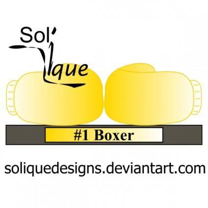 free vector Boxing Trophy