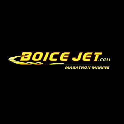 free vector Boice jet