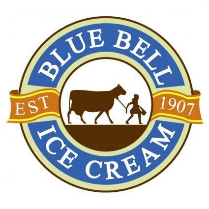 free vector Blue bell ice cream