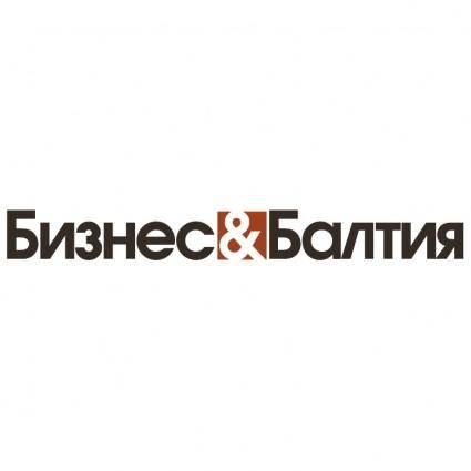 free vector Biznes baltija