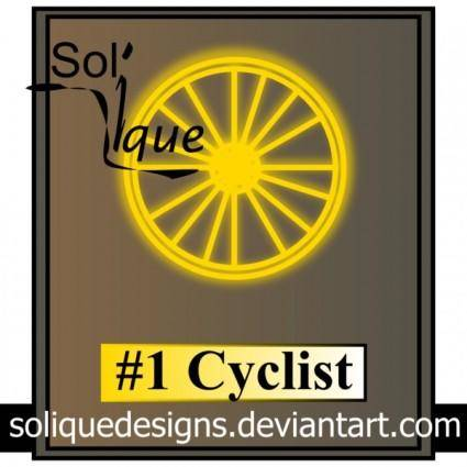 free vector Cycling Trophy