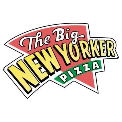 free vector Big new yorker pizza