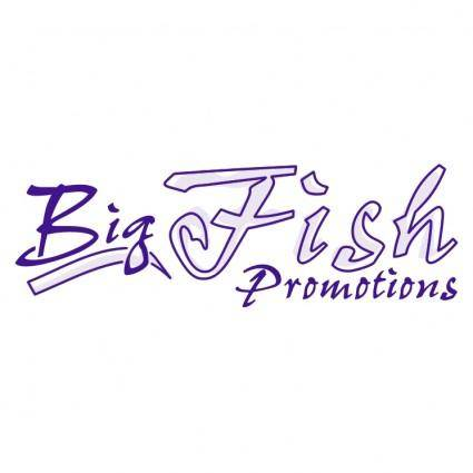 free vector Big fish promotions