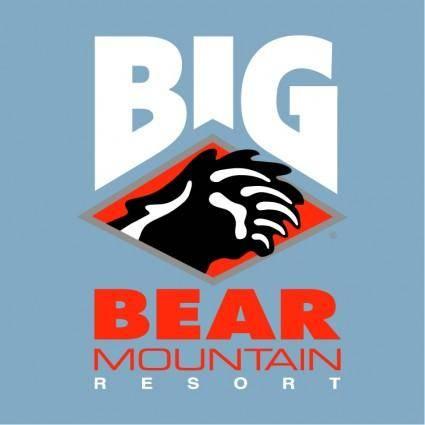 free vector Big bear mountain 0