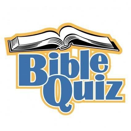 free vector Bible quiz