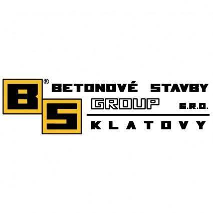 free vector Betonove stavby group