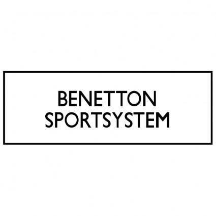 free vector Benetton sportsystems