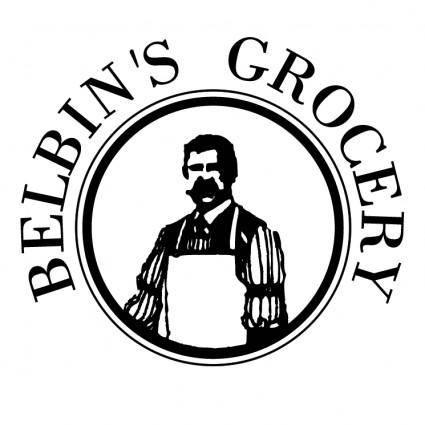 free vector Belbins grocery