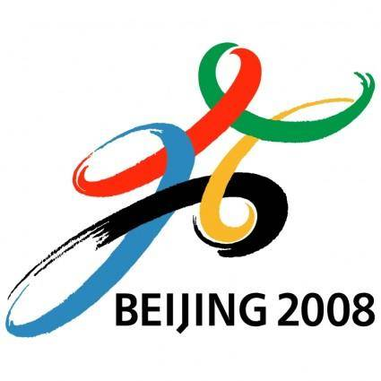 free vector Beijing 2008 0