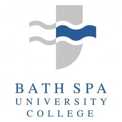 free vector Bath spa university college