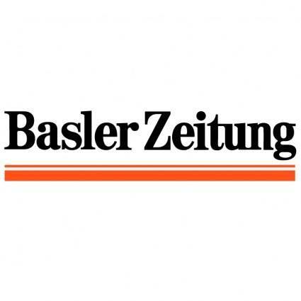 free vector Basler zeitung