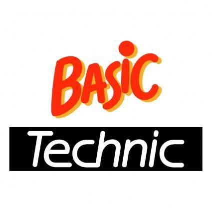 Basic technic