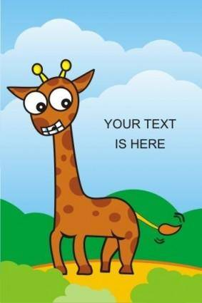free vector Giraffe Vector