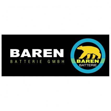 free vector Baren batteries gmbh