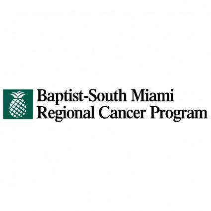 free vector Baptist south miami regional cancer program