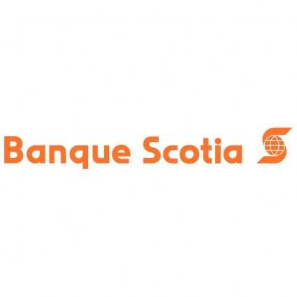 free vector Banque scotia
