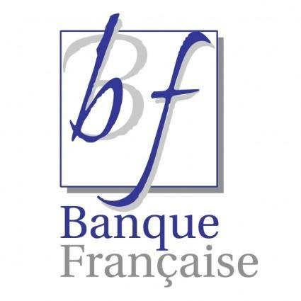 free vector Banque francaise