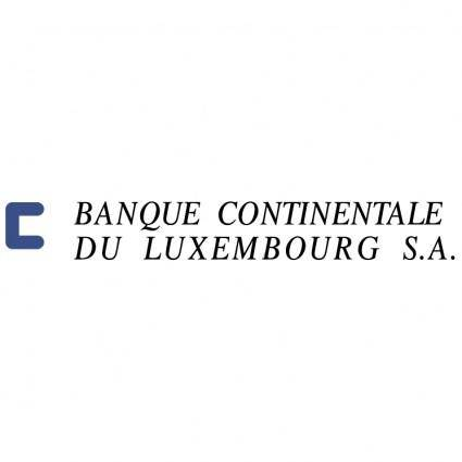 Banque continentale du luxembourg sa