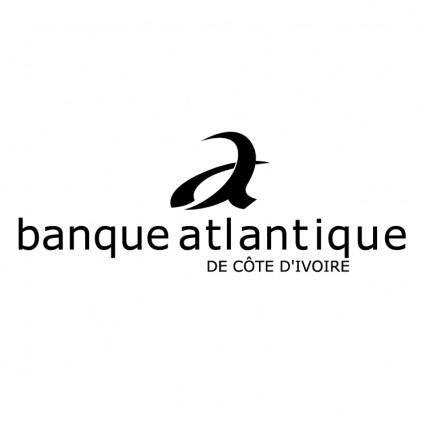 free vector Banque atlantique