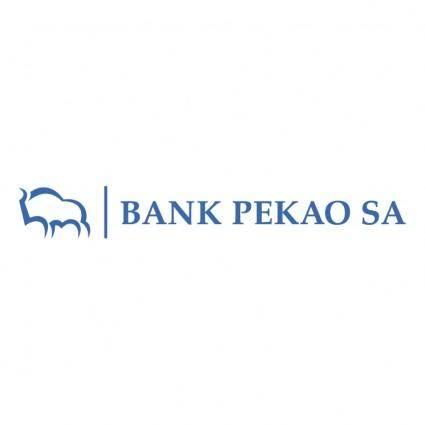free vector Bank pekao