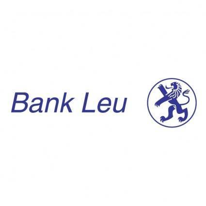 Bank leu